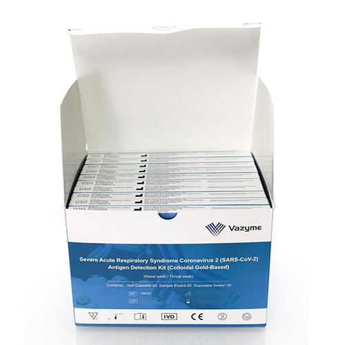 Kit 20 Teste Rapide Antigen Nazofaringian - Vazyme - 3