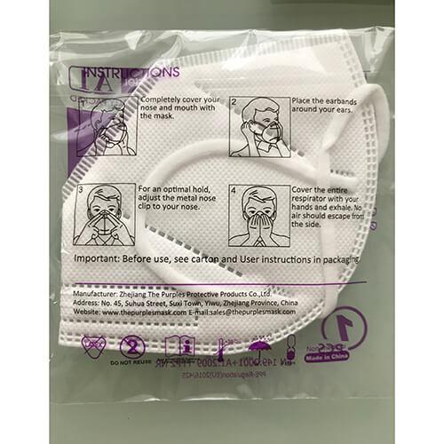 Masca FFP2 cu notified body 2